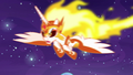 Daybreaker swooping down at Nightmare Moon S7E10.png