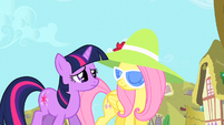 Fluttershy expression of otherwise S1E20