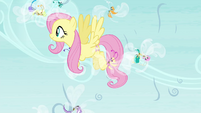 Fluttershy saving the Breezies S4E16