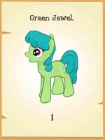 Green Jewel MLP Gameloft