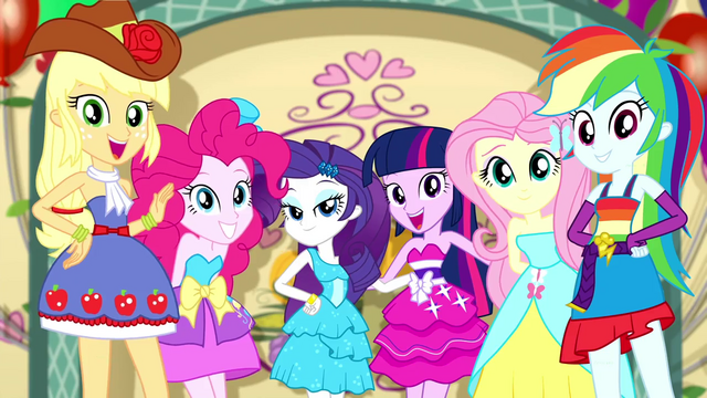 File:Mane Six posing for their Fall Formal photo SS2.png