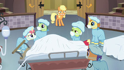 """Masked Nurse """"did you say 'prune them branches'?"""" S6E23"""