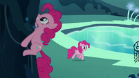 Pinkie Pie clone climbing S3E03