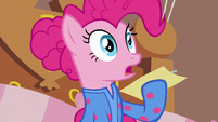 Pinkie Pie in distressed shock S7E4