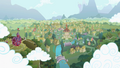 Ponyville remastered S2 opening.png