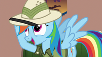 """Rainbow """"the hard part was figuring out"""" S6E13"""