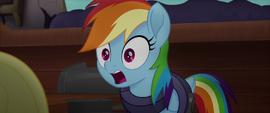 """Rainbow Dash """"the jig is up!"""" MLPTM"""