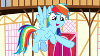 "Rainbow Dash ""what a good friend she is"" S8E18"