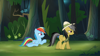 Rainbow Dash begging S4E04
