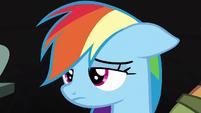 Rainbow Dash losing hope S6E13