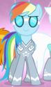 Rainbow Dash silver Wonderbolt ID S4E10