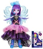 Rainbow Rocks Deluxe Dress Twilight Sparkle doll