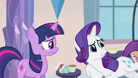 Rarity isn't ready S3E12