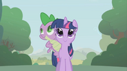 S01E09 Twilight i Spike na spacerze