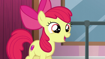 S06E04 Apple Bloom chce dołączyć do szkoły tańca