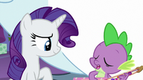 "Spike ""I really hope my gifting"" MLPBGE"