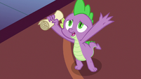 "Spike ""horsey-hives-covered foals"" S7E3"