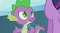"""Spike """"why would she come here?"""" S5E25"""