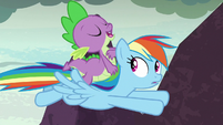 Spike -good thing you brought the official- S7E25