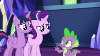 Spike -keep Ember and Thorax separate- S7E15