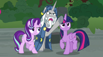 "Star Swirl the Bearded ""know this, fiend!"" S7E26"