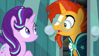 Sunburst surprised --the Princess of Friendship--- S6E1