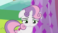Sweetie Belle looking depressed S6E14