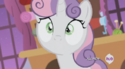 Sweetie Belle no mouth error S4E19