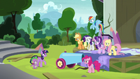 Twilight -she was a little nervous at first- S8E7