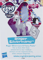 Wave 20 Roger Silvermane collector card