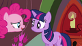Another Pinkie clone claiming herself to be the real Pinkie 2 S3E03.png