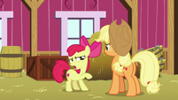 "Apple Bloom ""appeared all by themselves"" S9E10"
