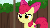 Apple Bloom pouting S6E14