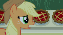 "Applejack ""something got 'em all sick"" S9E17"