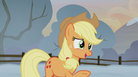 Applejack -traditionally, it's the youngest- S5E20