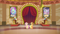 Applejack and Fluttershy talk to Flim and Flam S6E20.png