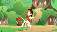 Autumn Blaze in the silent village S8E23