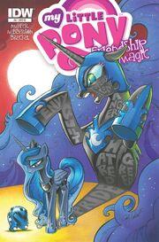 Comic issue 8 cover RI