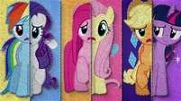 Felt version of What My Cutie Mark Is Telling Me BFHHS4