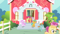 Fillies and colts leaving schoolhouse S4E05.png