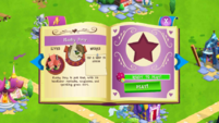 Flashy Pony album page MLP mobile game