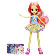 Friendship Games School Spirit Fluttershy doll