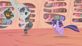 Grey Rarity hitching a ride S2E2.png