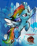 "MLP The Movie Rainbow Dash ""6weeks"" poster"