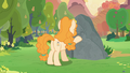 Pear Butter in front of her and Mac's rock S7E13.png