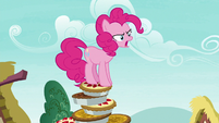 "Pinkie Pie ""you have to eat the pies!"" S7E23"