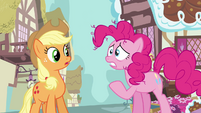 Pinkie Pie 'what if the package gets lost in the mail' S3E07