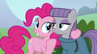 Pinkie Pie -you're not doing anything- S8E3