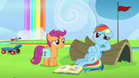 Rainbow Dash resentful of her parents S7E7