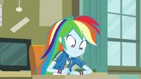 Rainbow Dash writes the answer down EGDS6